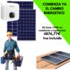 Kit Solar Residencial 3000W con Instalación